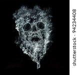 Smoking Kills On Black...
