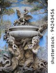 Baroque Fountain With Two...