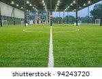 inside of indoor football field | Shutterstock . vector #94243720