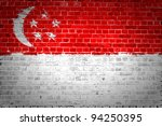 An Image Of The Singapore Flag...