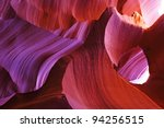the antelope canyon  page ... | Shutterstock . vector #94256515