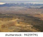 balloon overflight of zion | Shutterstock . vector #94259791