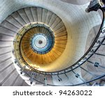 Upside View Of A Spiral...