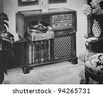philco radio phonograph with am ... | Shutterstock . vector #94265731