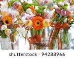 Gerbera  Tulips And Mix Of...