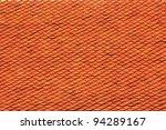roof tiles texture of thai...   Shutterstock . vector #94289167