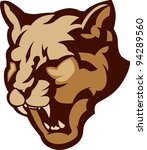 animal,art,artwork,cat,clip,clipart,cougar,face,growl,head,high school,illustration,image,mascot,mountain lion