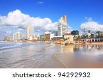 Panoramic View Of Tel Aviv...