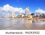 Panoramic View Of Tel Aviv...