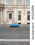 Rome   May 12  Fiat 500 Parked...