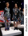 new york   september 11  models ... | Shutterstock . vector #94336309