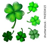 Collection Of Four Leaf Clovers