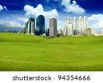 green city | Shutterstock . vector #94354666