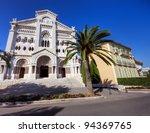 Saint Nicholas Cathedral, Monaco - stock photo