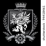 griffin crest | Shutterstock .eps vector #94418461
