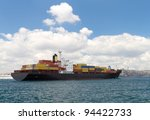 container ship | Shutterstock . vector #94422733