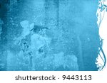floral style textures and... | Shutterstock . vector #9443113