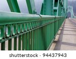 Green Railing Perspective On S...