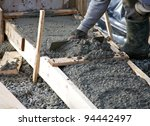 levelling concrete footings for ...
