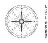compass rose for design... | Shutterstock .eps vector #94443019