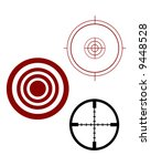 target and scope sights | Shutterstock .eps vector #9448528