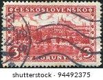 czechoslovakia   circa 1926  a... | Shutterstock . vector #94492375
