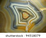 piece of polished agate. museum ... | Shutterstock . vector #94518079