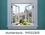 open window to the back yard... | Shutterstock . vector #94532305