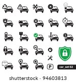 car service icons  set 02   Shutterstock .eps vector #94603813