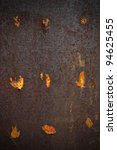rusted steel tin abstract... | Shutterstock . vector #94625455