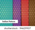 indian pattern   detailed and... | Shutterstock .eps vector #94629937