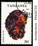 tanzania   circa 1993  a stamp...   Shutterstock . vector #94636723