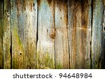 Closeup Of Old Wood Planks...