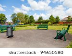 park in the city yorkshire uk | Shutterstock . vector #94650580