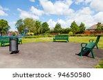 park in the city yorkshire uk | Shutterstock . vector #94650580