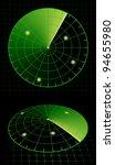Radar Screen Target Detection....
