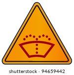 vector triangular road sign   Shutterstock .eps vector #94659442