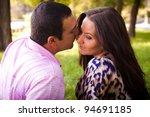 sexy women and strong men in... | Shutterstock . vector #94691185