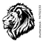 lion head graphic | Shutterstock .eps vector #94702153
