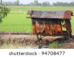 Abandoned Old Rusty Shed In...