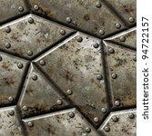 armor seamless texture... | Shutterstock . vector #94722157
