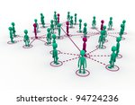 global network | Shutterstock . vector #94724236