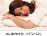 girl in bed | Shutterstock . vector #94734130