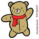 teddy bear cartoon | Shutterstock . vector #94736557
