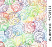 rainbow seamless | Shutterstock .eps vector #94739536