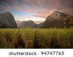 mountain valley | Shutterstock . vector #94747765