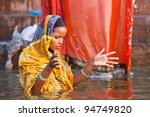 Varanasi  India   April 23 ...