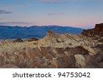 zabriskie point. image of...   Shutterstock . vector #94753042