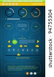 elements of infographics with...