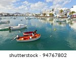 arrecife  spain dec 23 ... | Shutterstock . vector #94767802